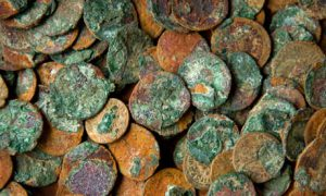 roman coins from somerset 007 300x180 - Roman-Coins-from-Somerset-007
