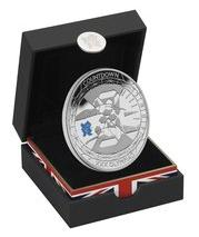 silver countdown - 2009 UK Olympic Countdown £5 Silver Coin