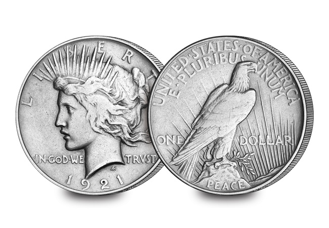 philadelphia peace dollar 1921 coin 1 - New book reveals a fascinating new discovery