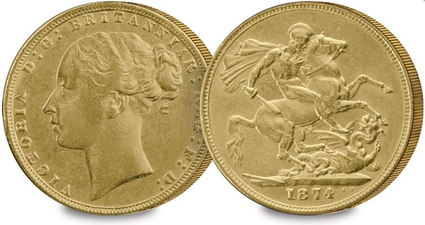 young head sovereign - £250,000 for the best St George & the Dragon coin?