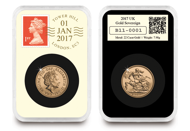 2017 uk gold sovereign everslab image - The Royal Mint's surprise for the 2017 Sovereign