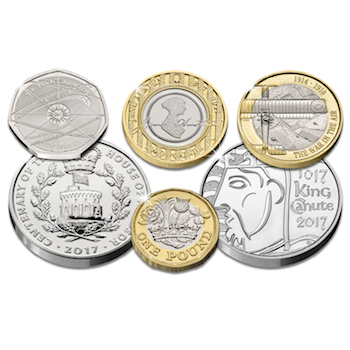 cpm blog post images4 - Unveiled today: The UK's 2017 coin designs