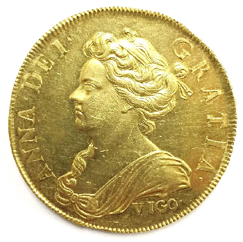 queen anne vigo coin - Rarest British coin ever made found