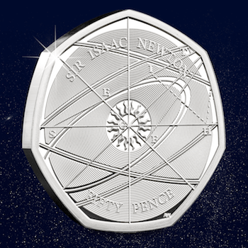CPM Isaac Newton 50p Blog 350x350 - Why the UK's new 50p has such significance for The Royal Mint