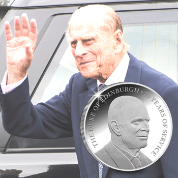 prince philip announcement photo - Why Prince Philip coins are so important to collectors