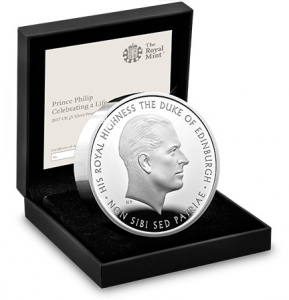 prince philip piedfort 1 289x300 - Could this be another record-breaking sell out from The Royal Mint?