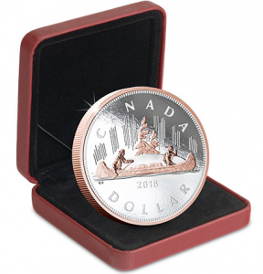 voyageur doller 1 288x300 - Why this 2018-dated Canadian silver coin has SOLD OUT already…