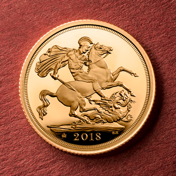 ST UK 2018 Gold Proof Sovereign Lifestyle3 350x350 - The first ever Gold Proof Sovereign to feature a mint mark