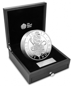 10oz lion of england 249x300 - My favourite coins of the year