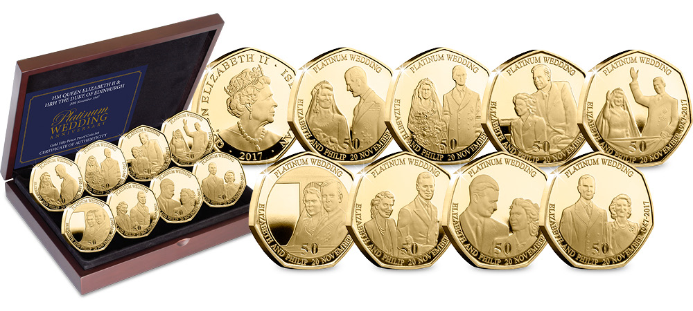 CPM Platinum Wedding Gold Proof 50p Coin Set3 - My top 3 recommendations for the biggest collecting event of the year