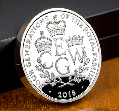 4 generations blog - New UK coin to mark a historic moment for British Royalty