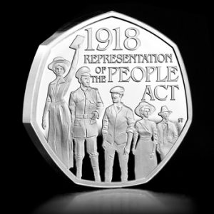 ST UK 2018 Representation of the People Act Silver Proof 50p Coin Social Media Image 300x300 - The 50p of the People