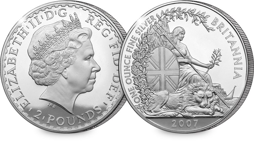 2007 britannia - The brand new UK Silver Proof £5 coin with lowest ever edition limit