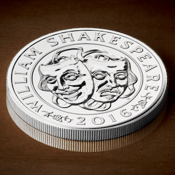 Shakespeare Silver Coin copy - The UK's last £50 coin that you probably missed out on...