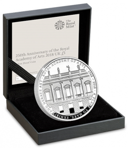 ra coin 261x300 - The brand new UK Silver Proof £5 coin with lowest ever edition limit