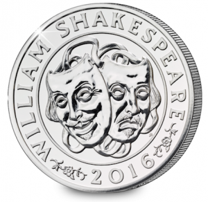 shakespeare 300x292 - The UK's last £50 coin that you probably missed out on...
