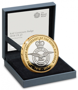 RAF Blog badge 261x300 - Why the RAF is in the collecting spotlight