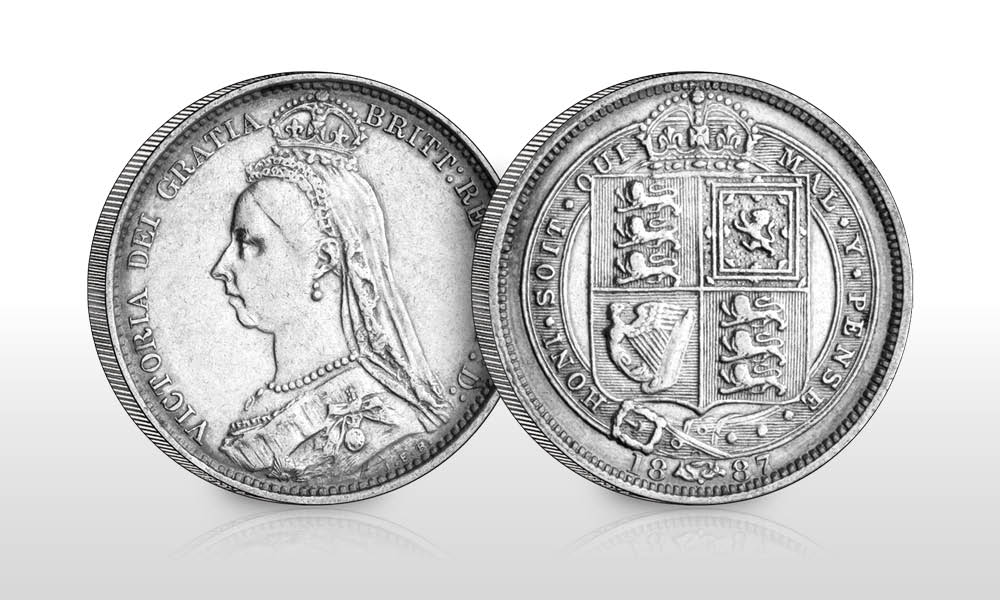 UK 1887 Queen Vic Withdrawn Silver Sixpence - Have you heard of the 130 year old lucky coin that shouldn't exist?