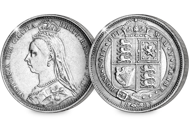 CPM UK 1887 Queen Victoria Withdrawn Silver Sixpence Obverse Reverse - What makes a coin worth $10m?
