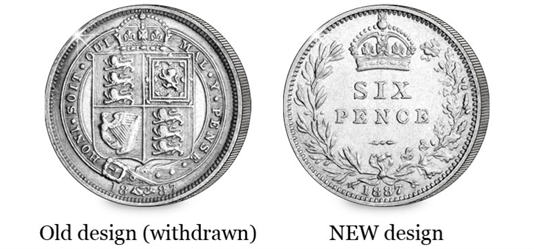 Withdrawn Sixpence Comparison - What makes a coin worth $10m?