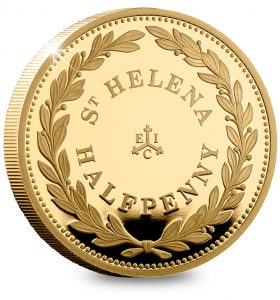 EIC 2019 Empire Collection St Helena Halfpenny 280x300 - Why these 9 gold coins tell a story that changed the world…