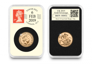 2019 Sovereign DateStamp Coin Obverse Reverse slab 300x208 - The man who almost buried the Sovereign