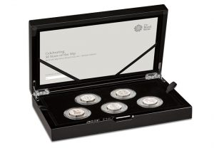 50th Anniversary of the 50p Silver Proof Set 300x208 - Kew Gardens - the rarest UK 50p - has just been reissued for 2019