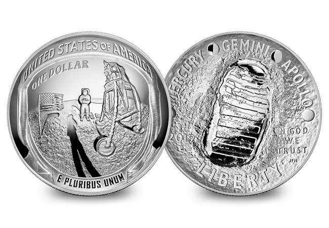 DN 2019 Apollo 11 Silver Dollar product images6 - Why the Moon landing anniversary will be the USA's next collecting sensation