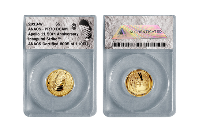 DY Moon Landing Coin product page images 5 - Why the Moon landing anniversary will be the USA's next collecting sensation