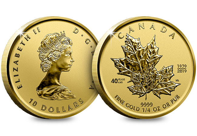 Canada 2019 Maple Leaf 1 4oz Gold Proof Coin Obverse Reverse Updated - 6 things you need to know about the Gold Maple Leaf