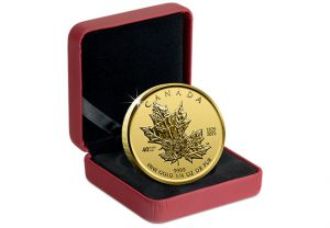 Canada 2019 Maple Leaf 1 4oz Gold Proof Coin in Display Case Updated 300x208 - 6 things you need to know about the Gold Maple Leaf