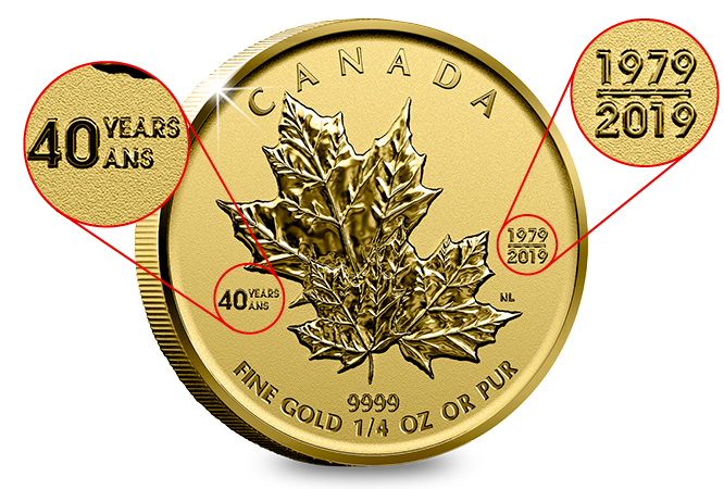 DN Canada 2019 Maple Leaf 1 4oz Gold Proof Coin Blog Image 666px - 6 things you need to know about the Gold Maple Leaf