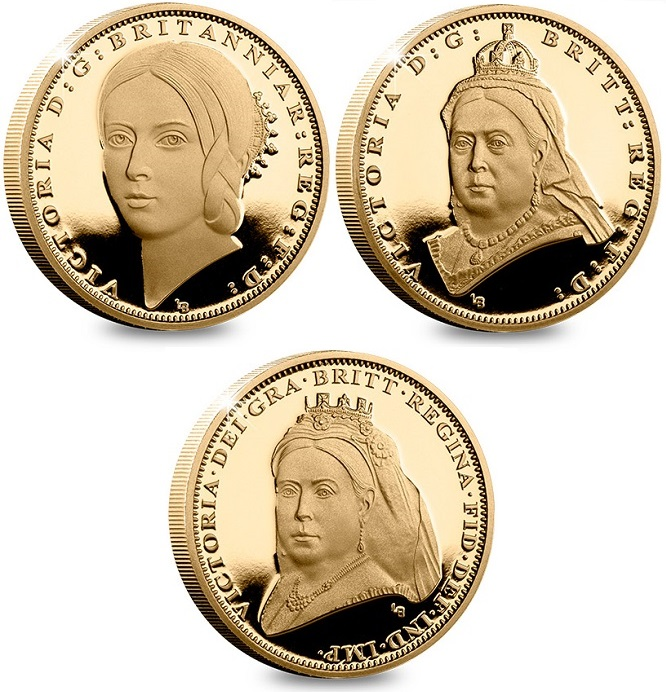 Victoria 200th Birthday Gold Proof One Pound Three Coin Set Blog Set 1 - A behind-the-scenes look at the specially commissioned Queen Victoria portraits