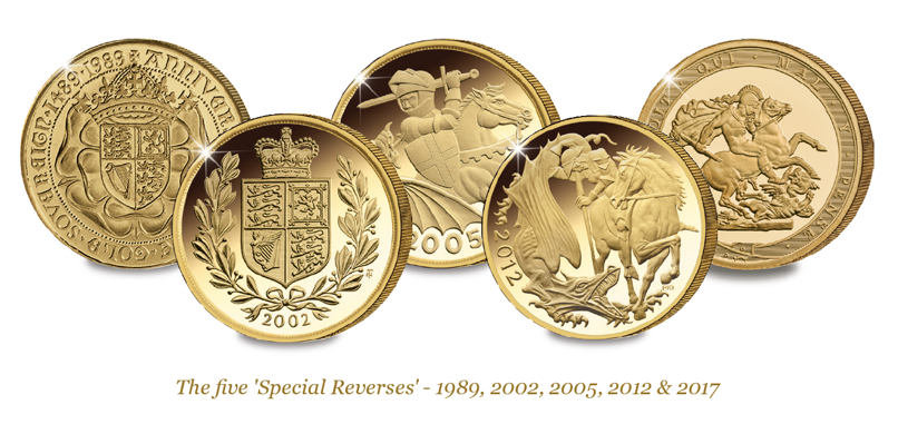 Most Collectible Sovereigns Blog Image All 5 Large - Can you pick the most collectable Sovereigns from this graph?