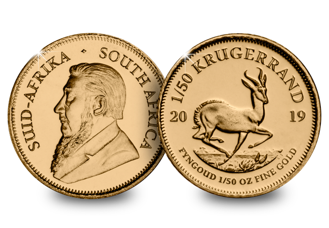 LS South Africa 2019 1 50oz Gold Krugerrand Both Sides - Have you got your collector's licence?