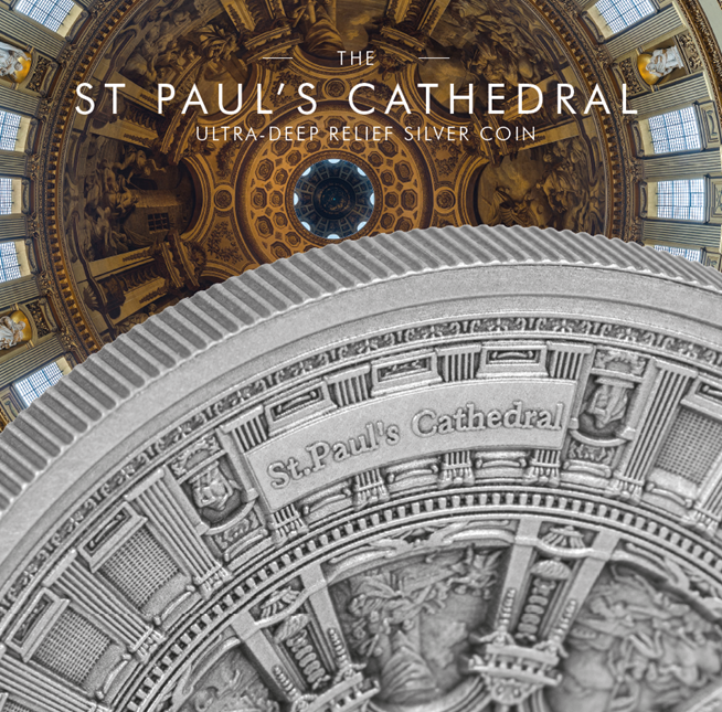 St Pauls Cathedral Silver Kilo Blog 2 - The coin that I can't explain
