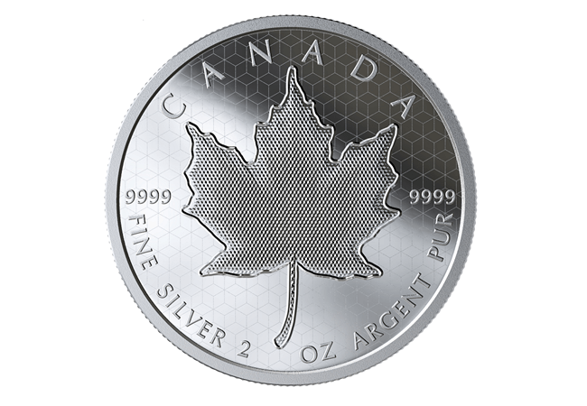 Pulsating Maple Leaf Silver Coin Reverse - How do you make a coin that pulsates?