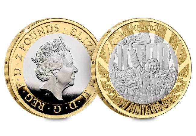 DN 2020 commemorative Base Proof coins product Victory 2 pound - Unveiled today: The UK's 2020 coin designs