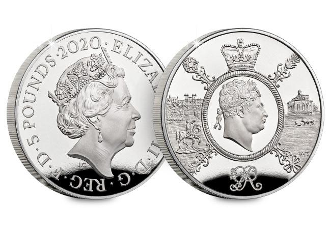DN 2020 commemorative Base Proof coins product george 5 pound - Unveiled today: The UK's 2020 coin designs