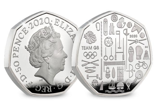 DN 2020 commemorative Base Proof coins product team GB 50p - Unveiled today: The UK's 2020 coin designs