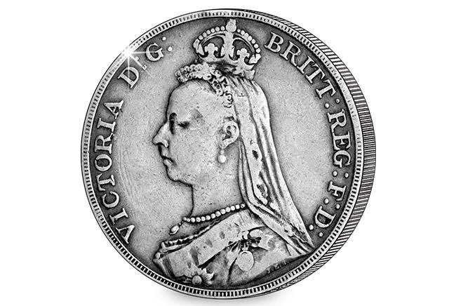 Jubilee Head 1887 Queen Victoria Crown 1 - Secrets, controversy and death – Queen Victoria on coins