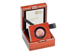 DY 2020 Gold Sovereign Product Page Box 300x208 - Britain's first ever £1m coin