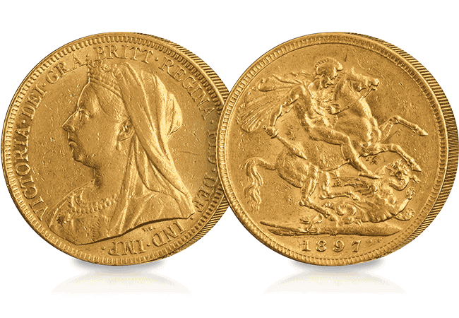 Queen Victoria Sovereign - When grief took over UK coinage