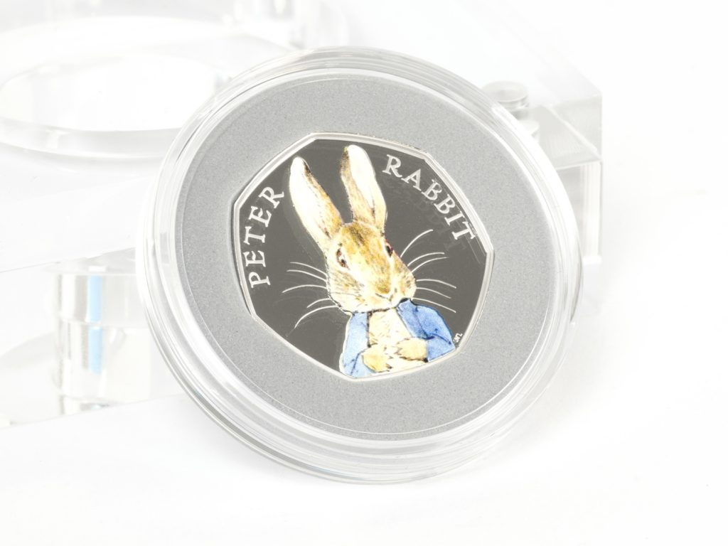 2016 peter rabbit silver proof 50p coin reverse 1024x768 - How did the humble 50 pence piece become Britain's most collectable coin?
