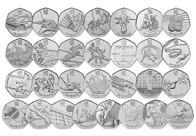 Olympic 50p Coin - How did the humble 50 pence piece become Britain's most collectable coin?