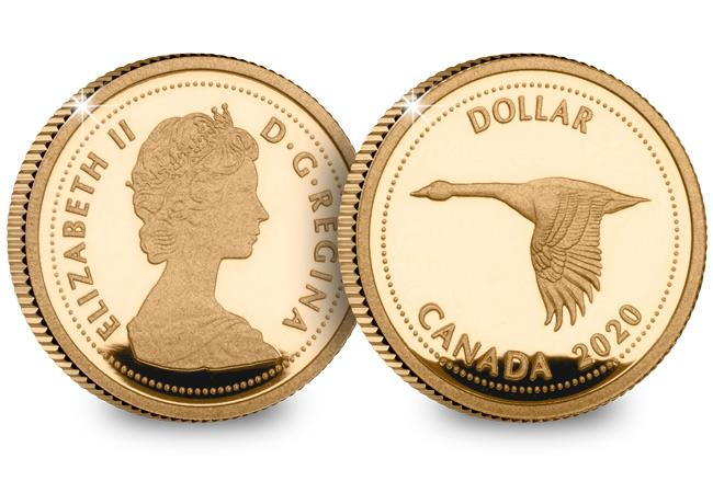 canada 2020 alex colville 1967 dollar gold proof both sides - The coin designed by the £1m artist