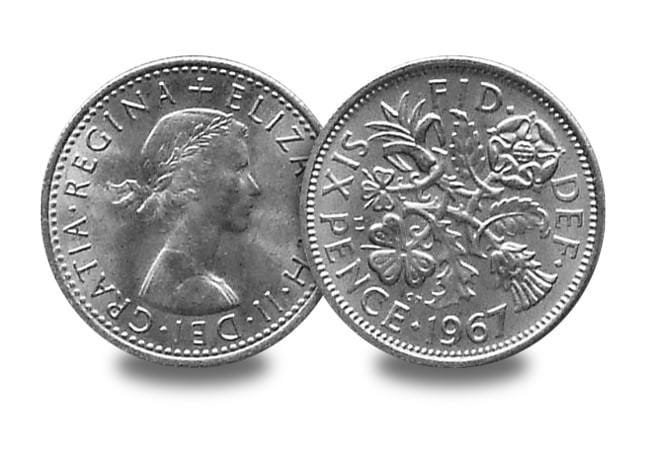 1967 last sixpence - The day that changed UK coinage forever